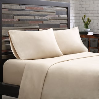 Queen 300 Thread Count Cotton Sheet Set - Khaki