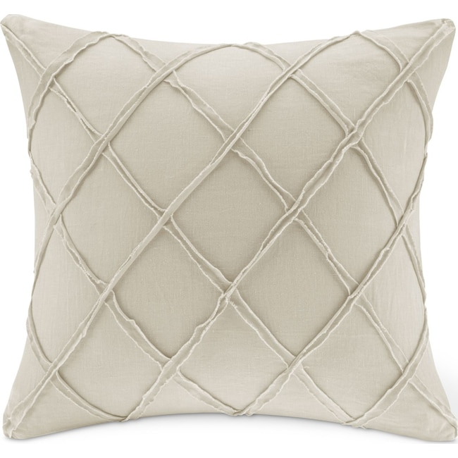 Accent and Occasional Furniture - Harbor Linen Decorative Pillow - Beige