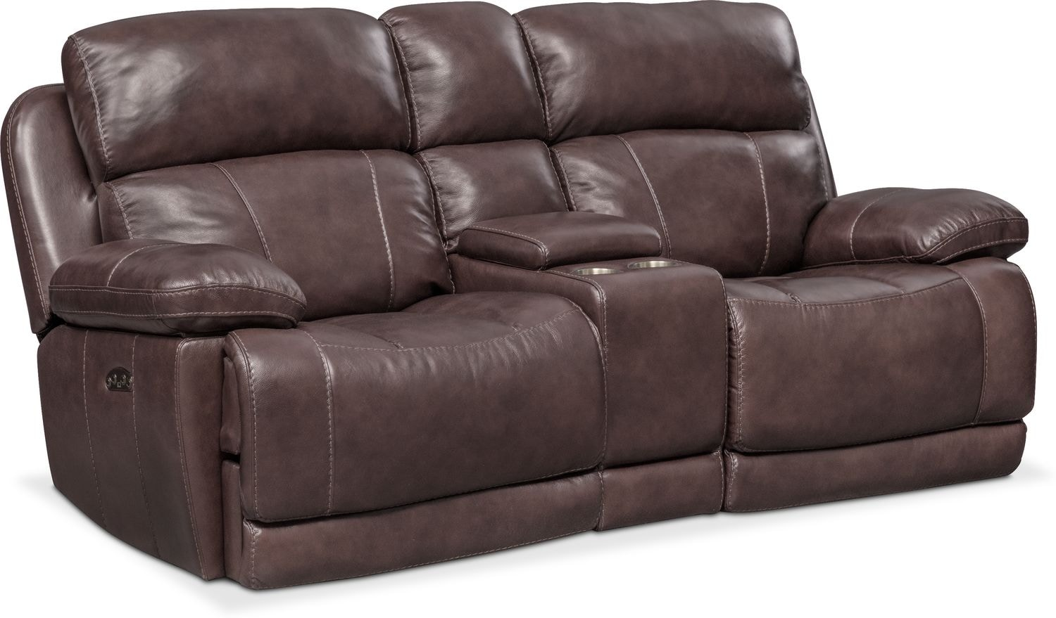 Living Room Furniture - Monte Carlo Dual Power Reclining Loveseat