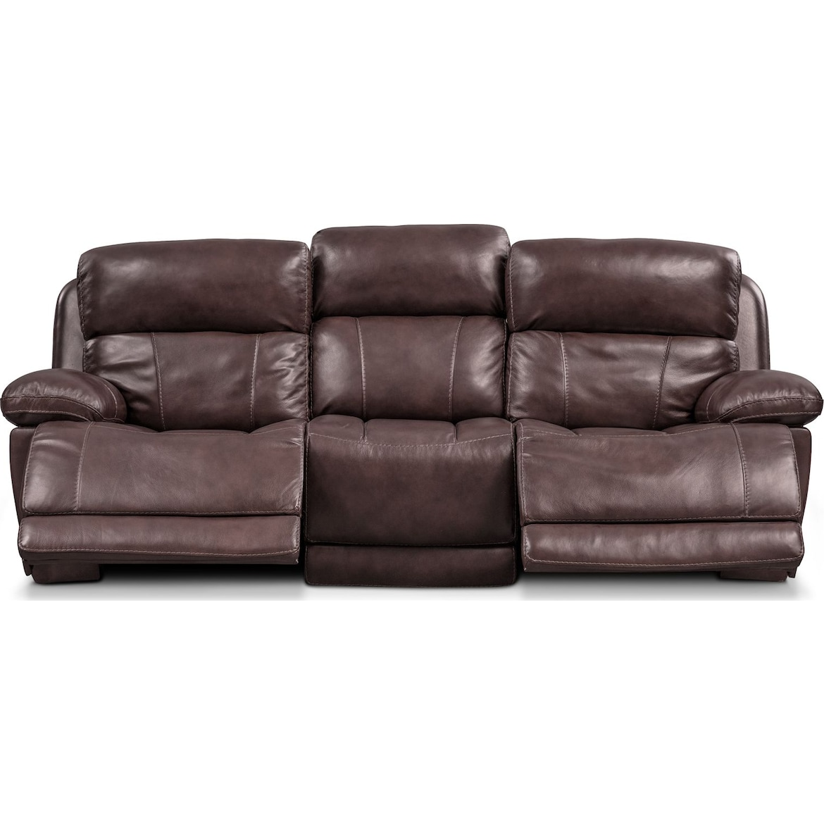 Monte Carlo Dual Power Reclining Sofa American Signature