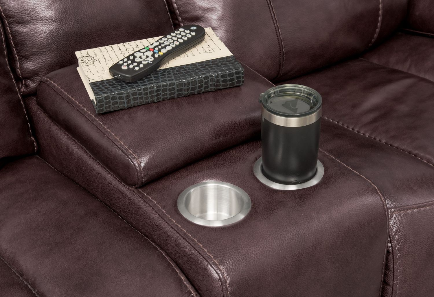 Monte Carlo Dual Power Reclining Sofa Reclining Loveseat And Recliner Set Chocolate