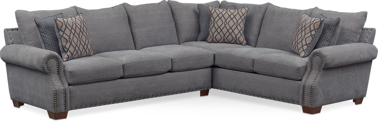 Bolton 2 Piece Sectional With Left Facing Sofa