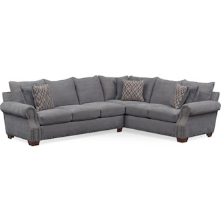 Bolton 2-Piece Sectional with Left-Facing Sofa