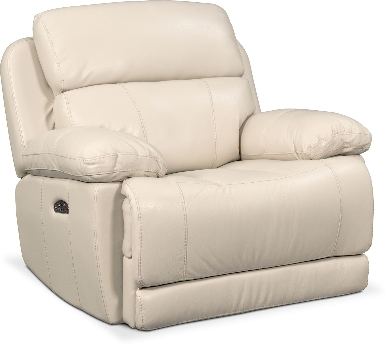 Monte Carlo Power Recliner - Cream  sc 1 st  American Signature Furniture & Leather Living Room Furniture | American Signature Furniture islam-shia.org