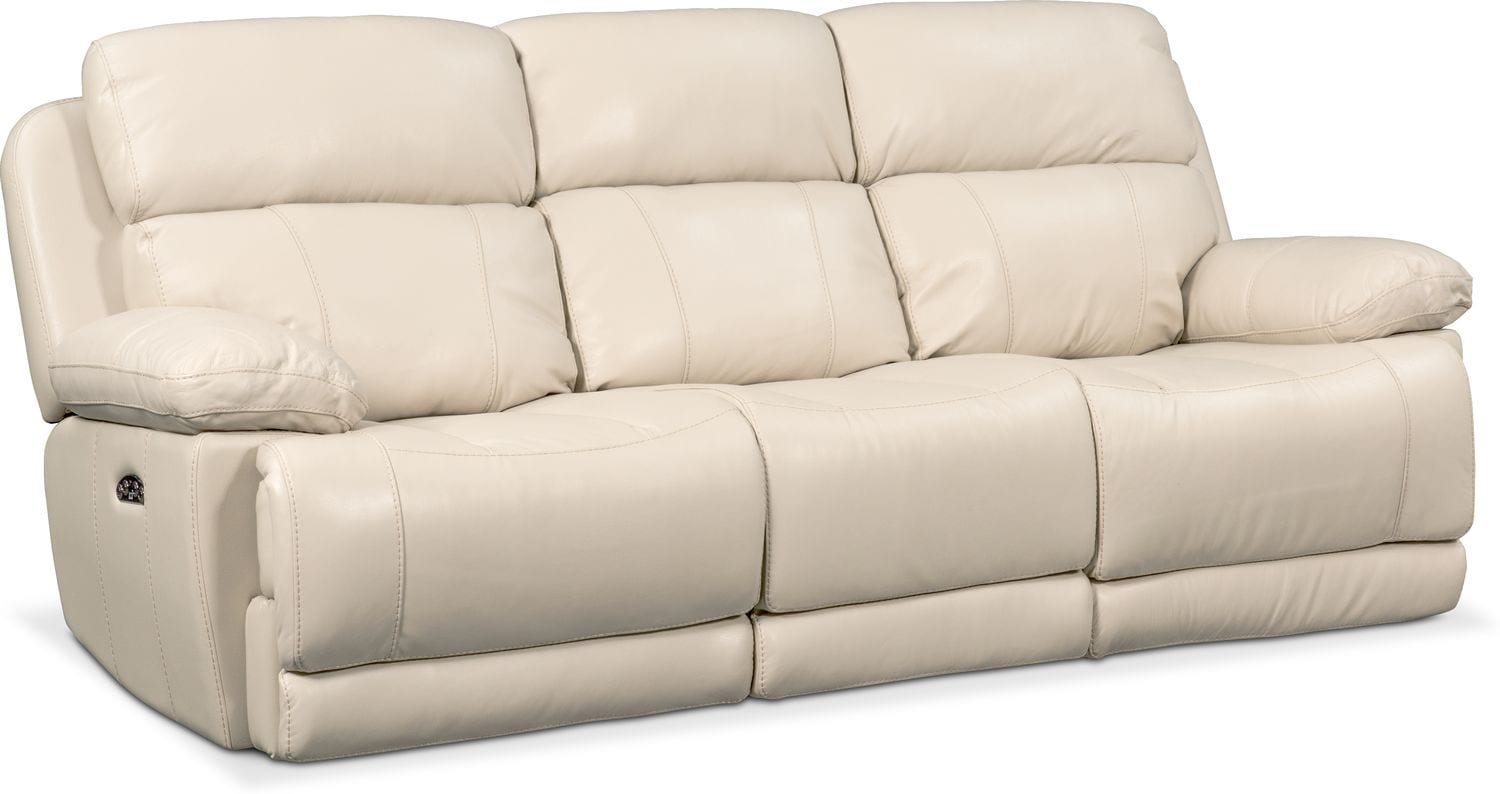Living Room Furniture - Monte Carlo Dual Power Reclining Sofa
