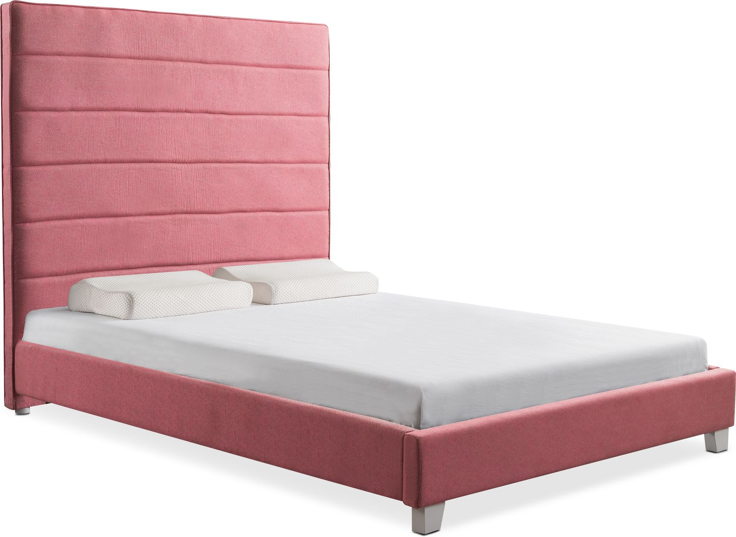 Brighton Upholstered Bed | American Signature Furniture