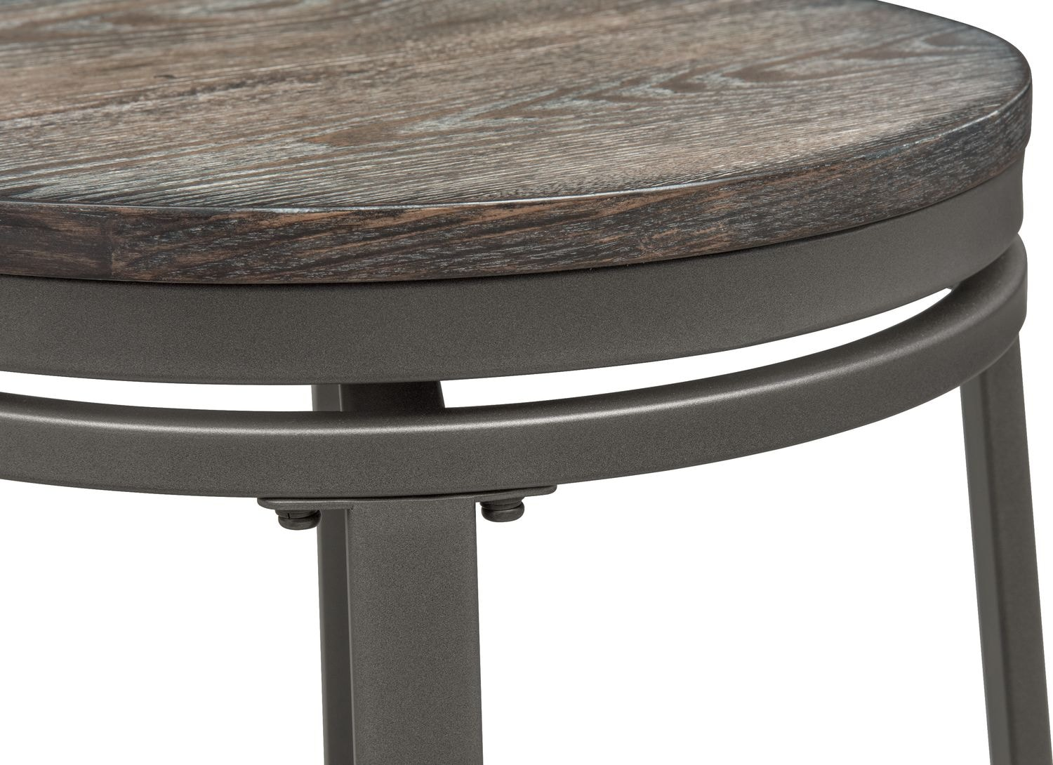 Stratton counter height table and 4 stools ash for Table height stools