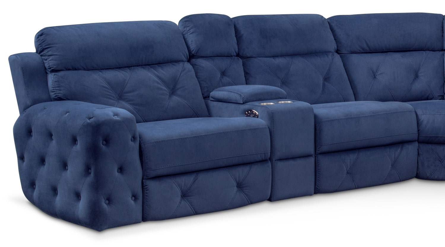 Macklin 4 Piece Dual Power Reclining Sectional With Left