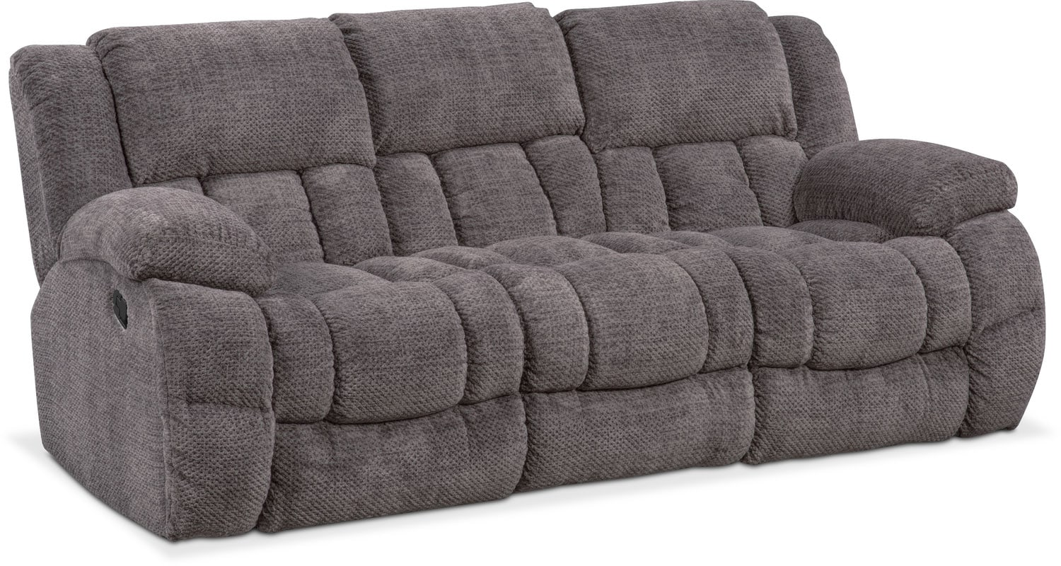 Turbo Sofa   Pewter