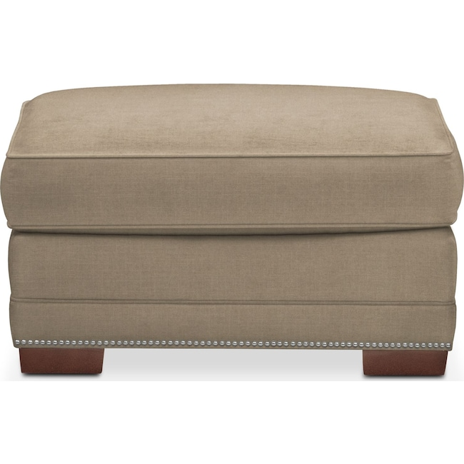 Living Room Furniture - Arden Ottoman- Comfort in Mondo