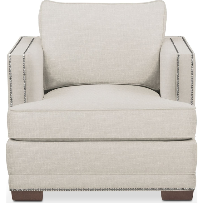 Living Room Furniture - Arden Chair- Comfort in Anders Ivory