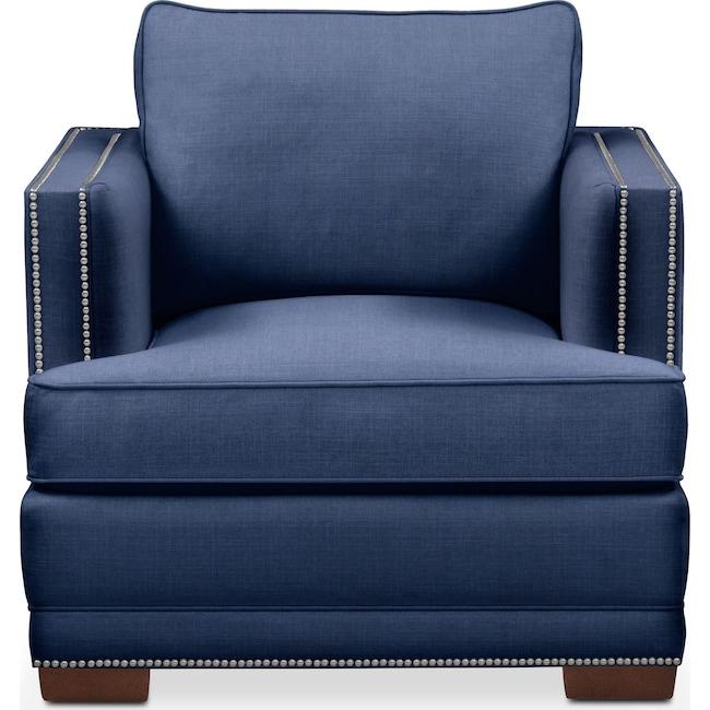 Living Room Furniture - Arden Chair- Comfort in Abington TW Indigo