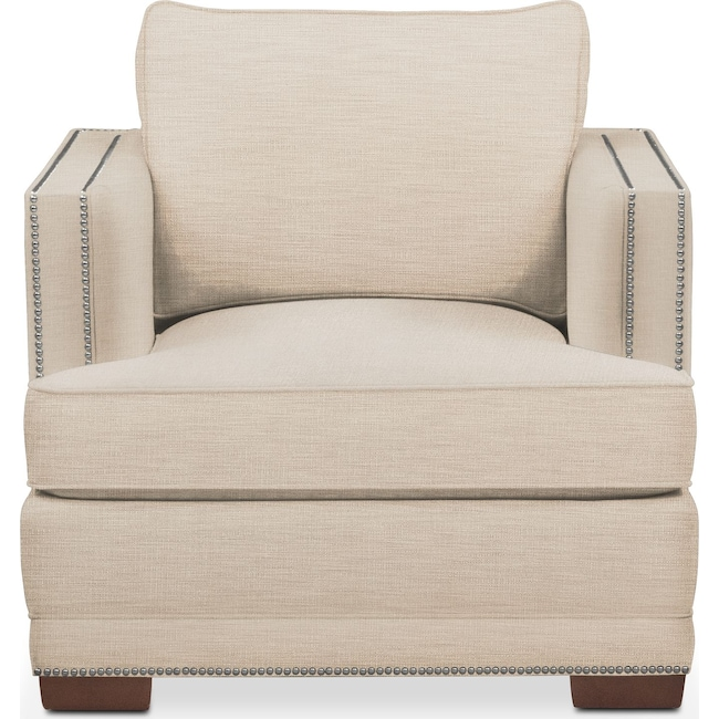 Living Room Furniture - Arden Chair- Comfort in Victory Ivory