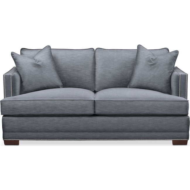 Living Room Furniture - Arden Apartment Sofa- Comfort in Dudley Indigo