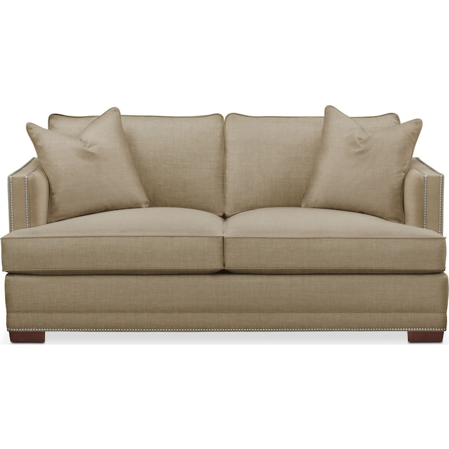 Living Room Furniture - Arden Apartment Sofa- Comfort in Milford II Toast