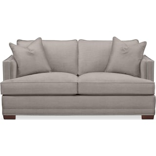 Arden Apartment Sofa- Comfort in Curious Silver Rine