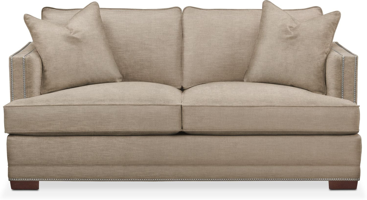 Gentil Living Room Furniture   Arden Apartment Sofa  Comfort In Dudley Burlap