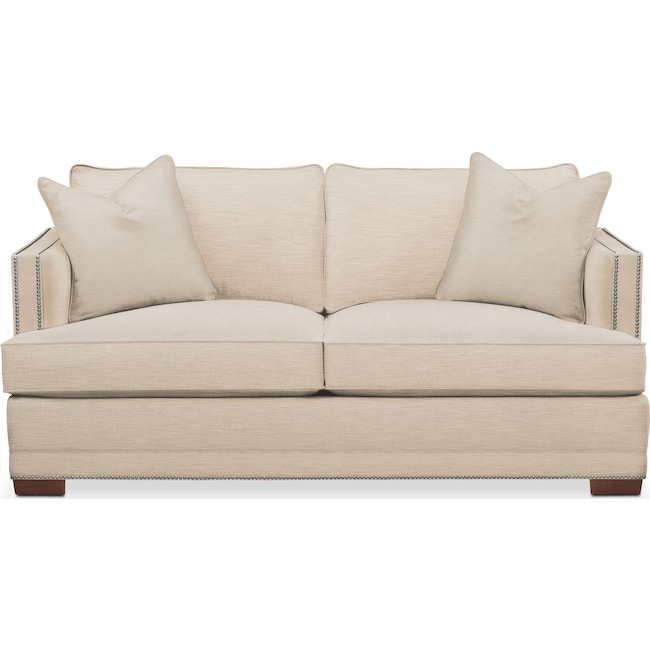 Living Room Furniture - Arden Apartment Sofa- Comfort in Victory Ivory