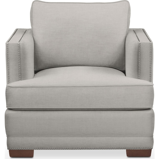 Living Room Furniture - Arden Chair- Comfort in Dudley Gray