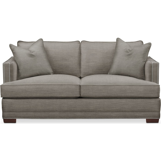 Living Room Furniture - Arden Apartment Sofa- Comfort in Victory Smoke
