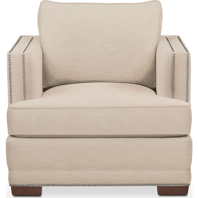 Living Room Furniture - Arden Chair- Comfort in Dudley Buff