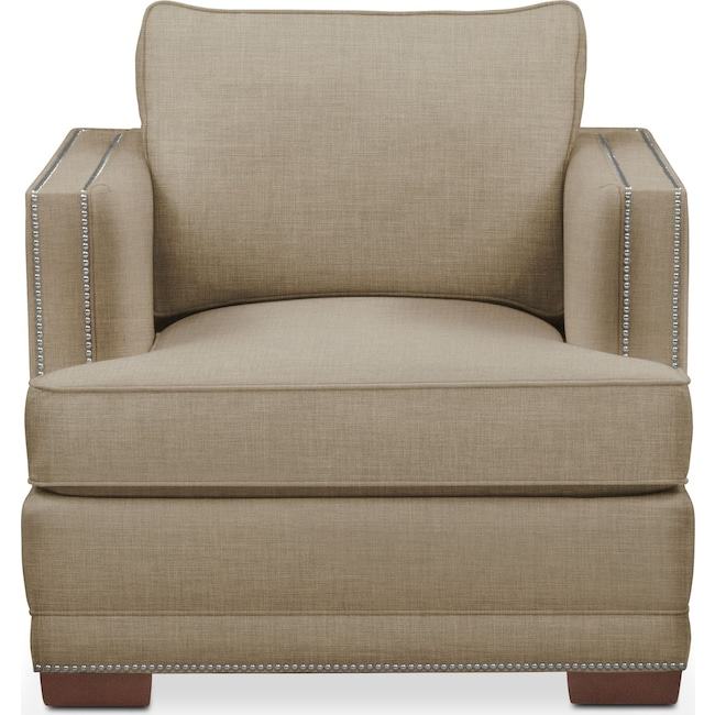 Living Room Furniture - Arden Chair- Comfort in Milford II Toast