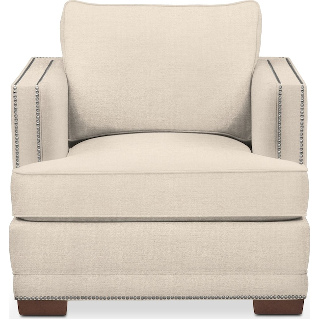 Living Room Furniture - Arden Chair- Comfort in Curious Pearl