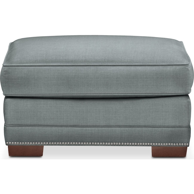 Accent and Occasional Furniture - Arden Ottoman- Comfort in Seven Seas