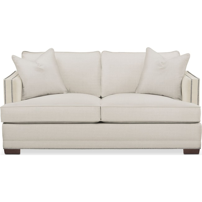 Living Room Furniture - Arden Apartment Sofa- Comfort in Anders Ivory