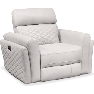 Catalina Power Recliner - Ivory