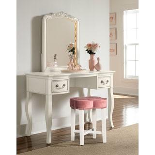 Quad Vanity Stool - Pink