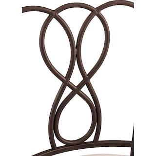 Julia Vanity Stool - Bronze
