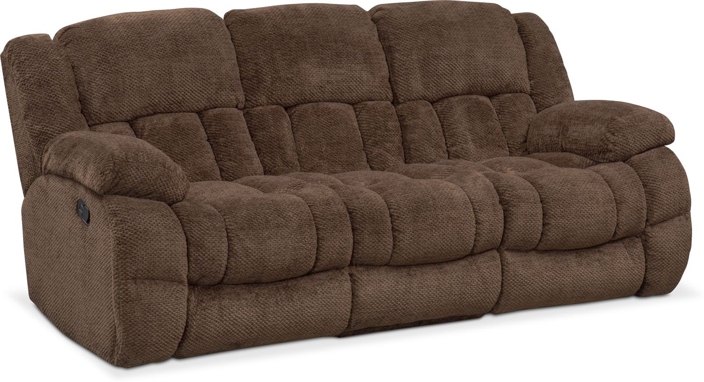 Living Room Furniture - Turbo Reclining Sofa