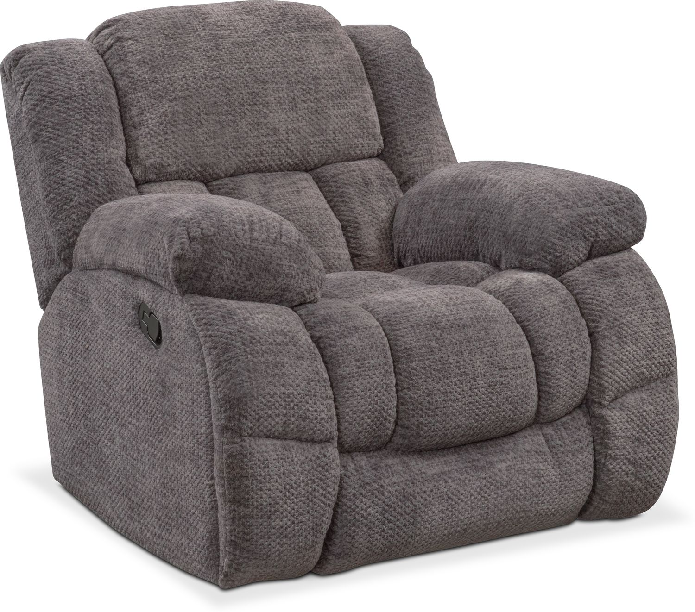Living Room Furniture - Turbo Glider Recliner