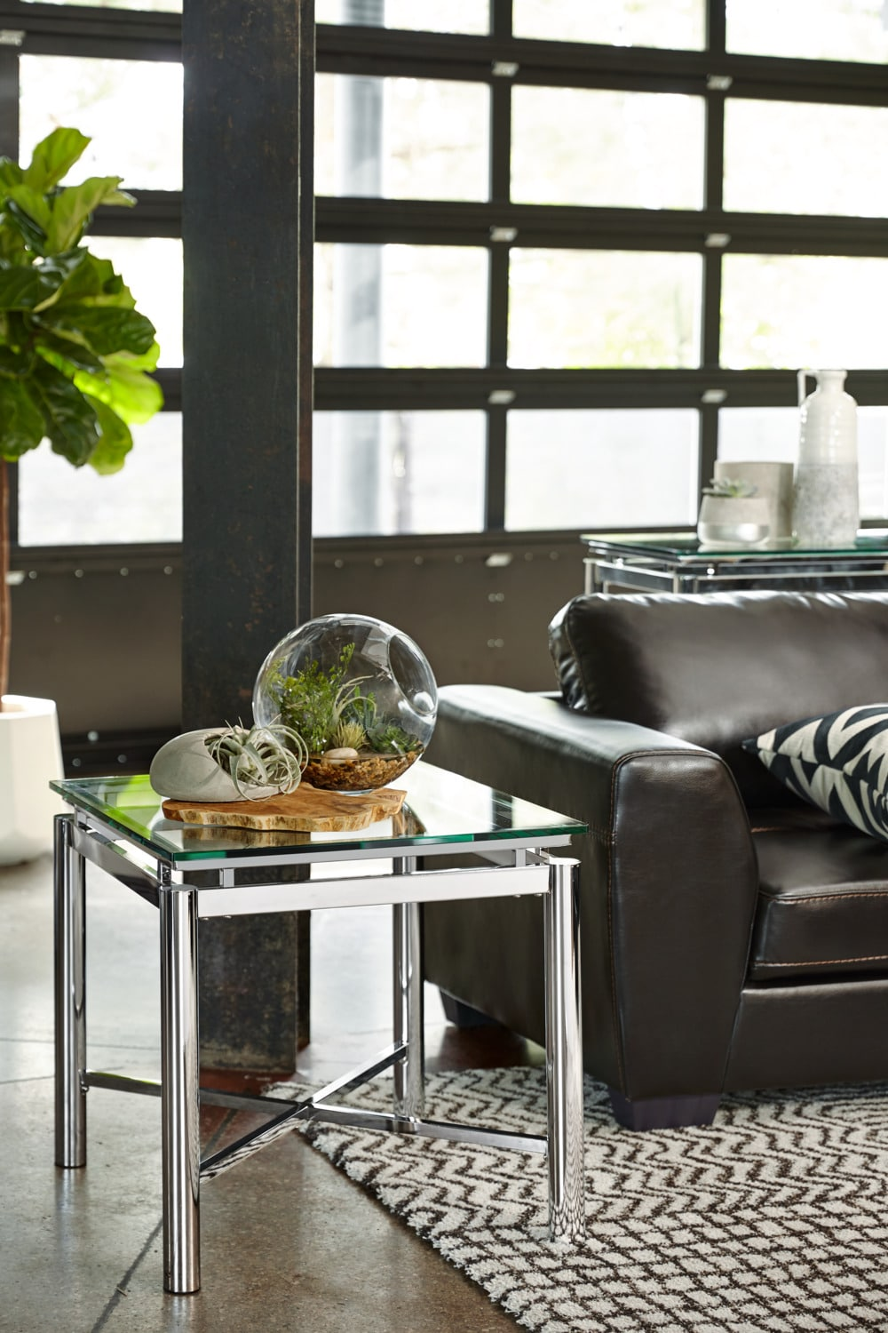 Accent and occasional furniture nova end table silver hover touch to zoom click to change image