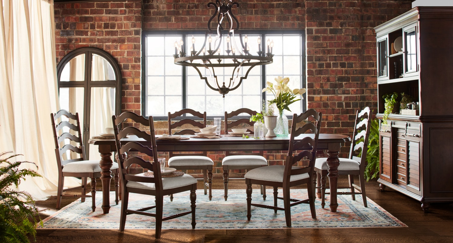 The Charleston Rectangular Dining Collection