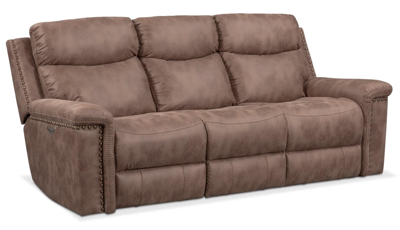 Montana Dual Power Reclining Sofa ...