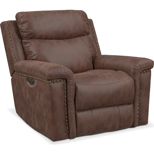 Living Room Furniture - Montana Dual-Power Recliner