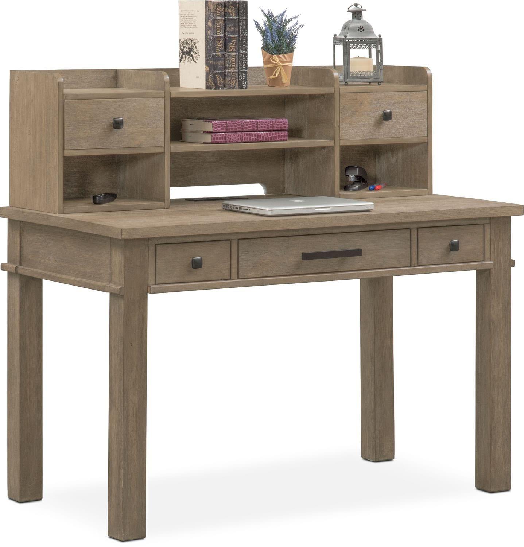 Kids Furniture - Tribeca Youth Desk and Hutch