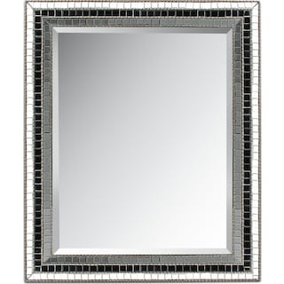 Triple Mosaic Square Mirror