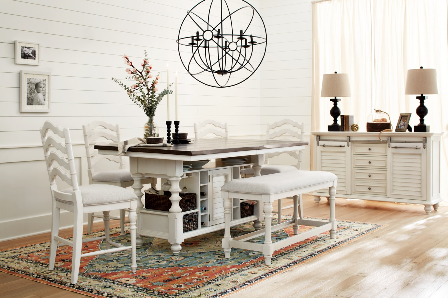 The Charleston Counter Height Dining Collection