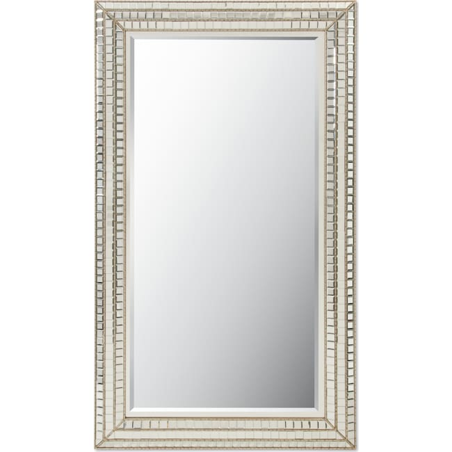 Home Accessories - Triple Mosaic Floor Mirror