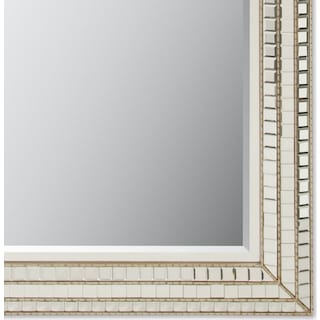Triple Mosaic Floor Mirror
