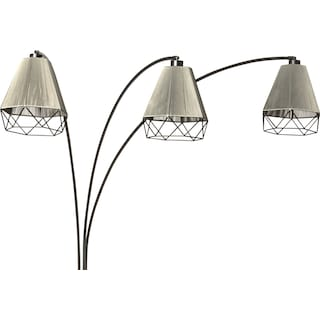 Polygon Arch Floor Lamp