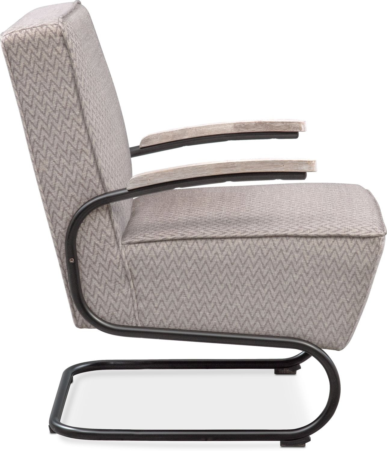 Crosby Accent Chair Gray American Signature Furniture