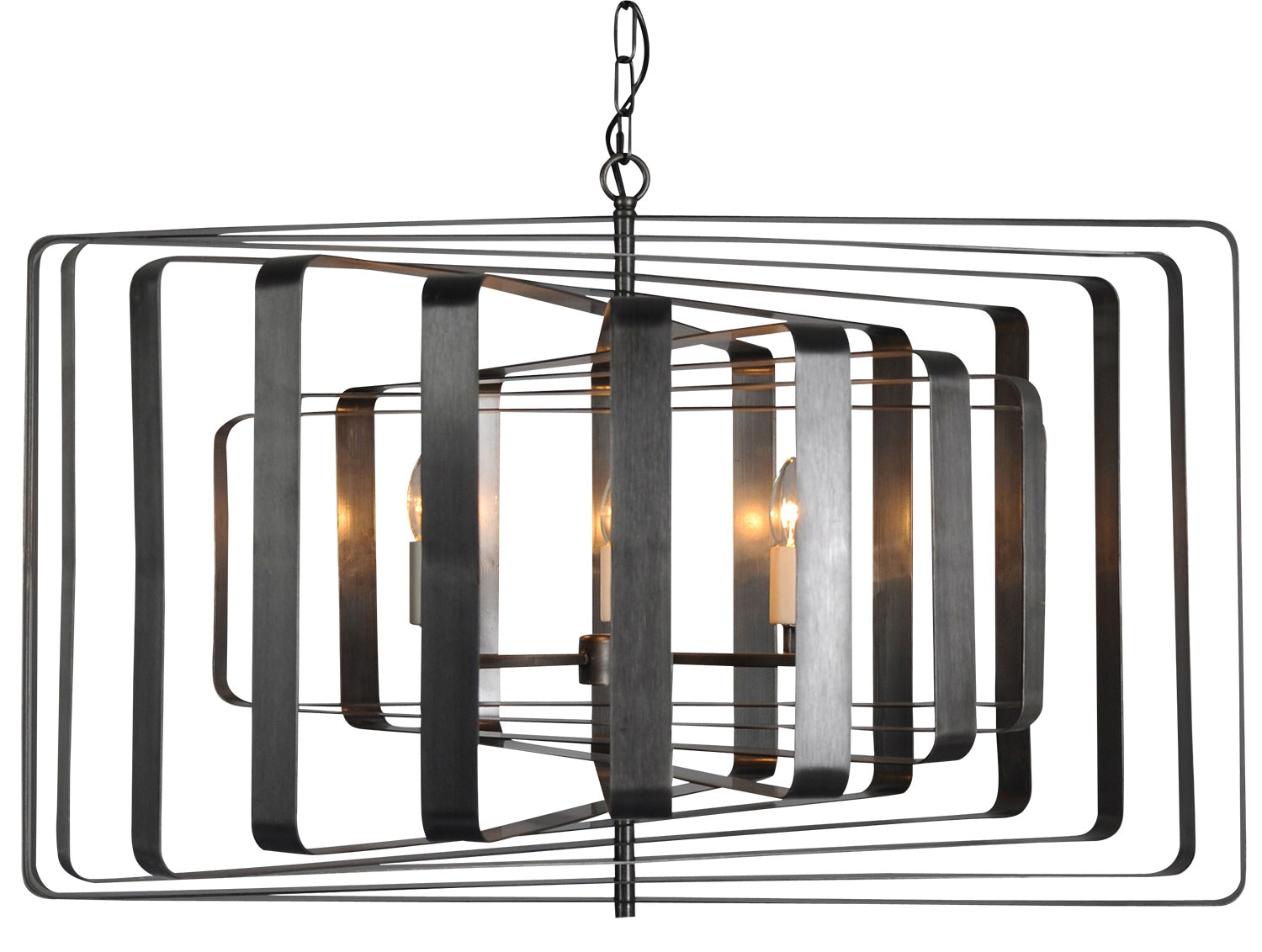 Home Accessories - Chelsea Chandelier - Black
