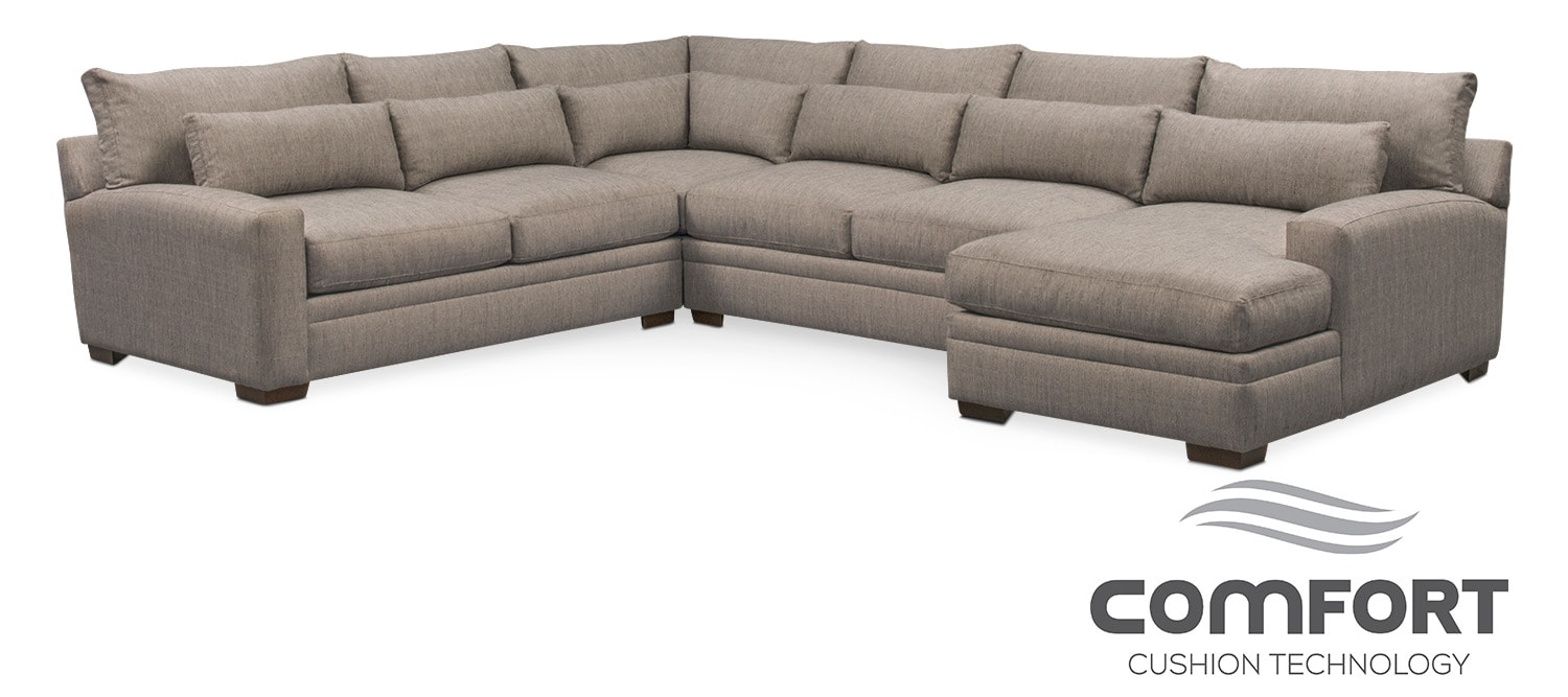 The Winston Comfort Collection - Gray