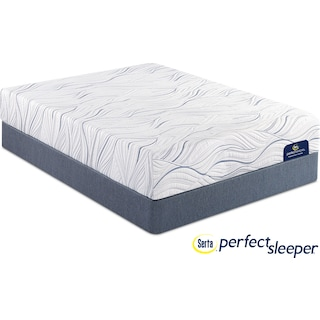 Somerville Firm Queen Mattress and Foundation Set