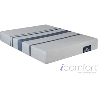 Blue 100 Cushion Firm Queen Mattress