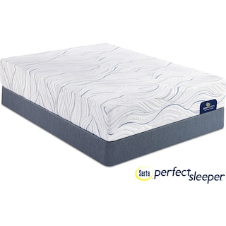 Caledonian Plush Queen Mattress and Foundation Set